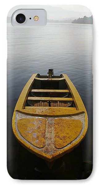 Skc 0042 Calmness Anchored IPhone Case by Sunil Kapadia