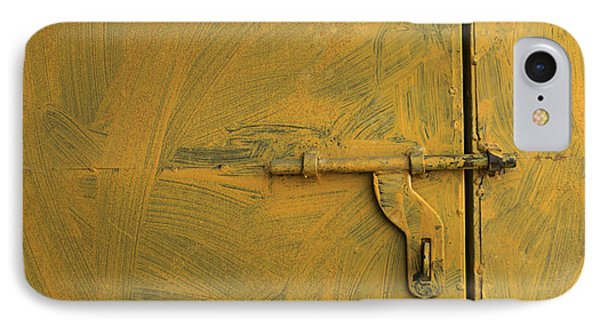 IPhone Case featuring the photograph Skc 0047 The Door Latch by Sunil Kapadia