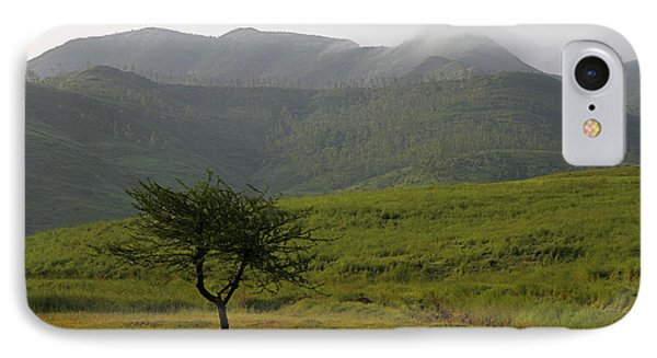 IPhone Case featuring the photograph Skc 0053 A Solitary Tree by Sunil Kapadia