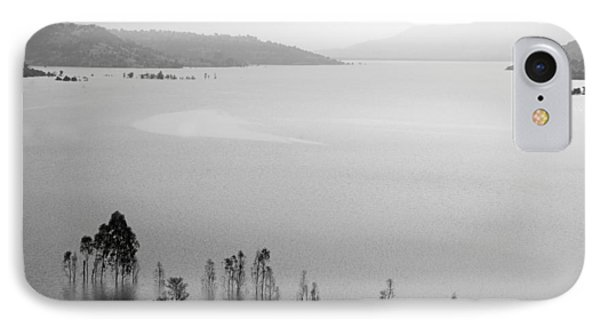 IPhone Case featuring the photograph Skc 0055 A Hazy Riverscape by Sunil Kapadia