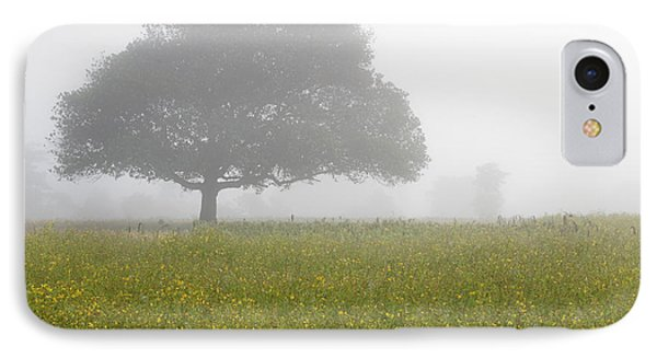 IPhone Case featuring the photograph Skc 0056 Tree In Fog by Sunil Kapadia
