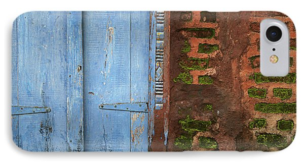 Skc 0302 A Village House IPhone Case by Sunil Kapadia