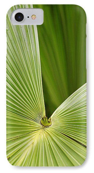 IPhone Case featuring the photograph Skc 0691 The Paths Of Palm Meeting At A Point by Sunil Kapadia