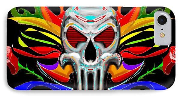 Skull Abstract Phone Case by Arpit Handa