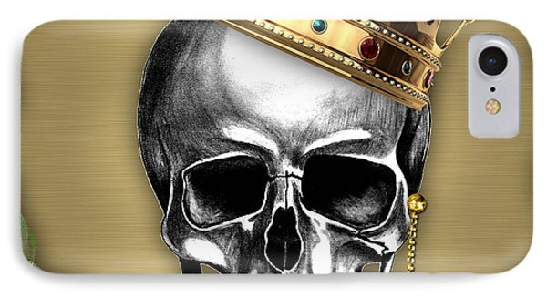 Skull Art Collection IPhone Case by Marvin Blaine