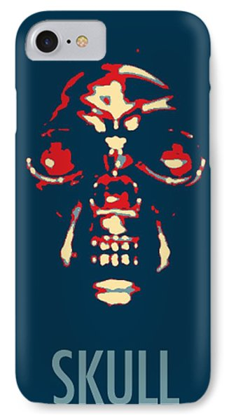 Skull In Hope IPhone Case