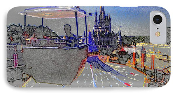 Skway Magic Kingdom Phone Case by David Lee Thompson