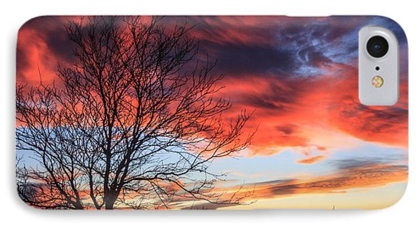 Sky Ablaze IPhone Case by Shirley Heier