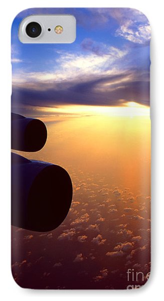Sky Above 30000 Feet  IPhone Case by Aiolos Greek Collections