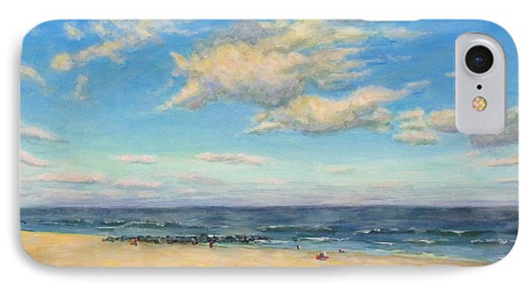 IPhone Case featuring the painting Sky And Sand by Joe Bergholm