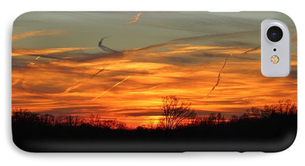 Sky At Sunset IPhone Case by Cynthia Guinn