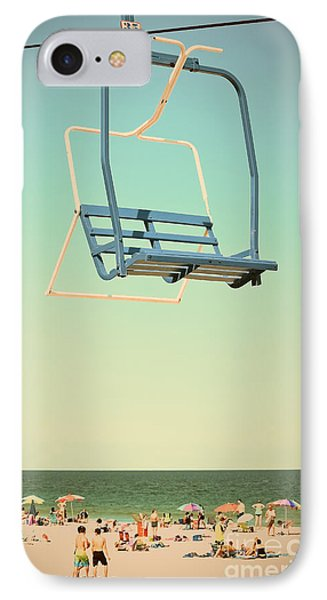 Sky Blue - Sky Ride IPhone Case by Colleen Kammerer