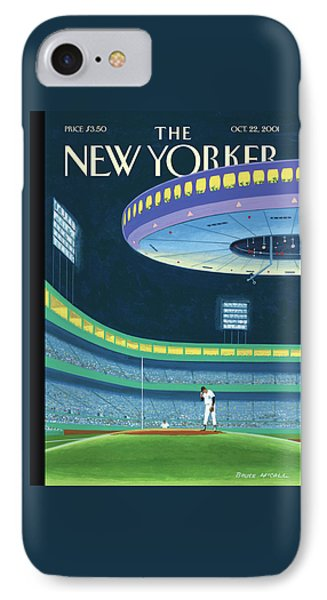 Yankee Stadium iPhone 7 Case - Sky Box by Bruce McCall