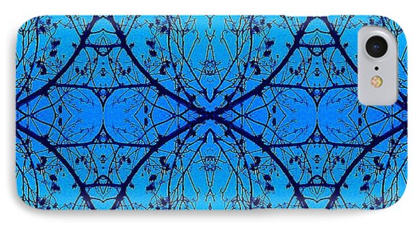 Sky Diamonds Abstract Photo IPhone Case