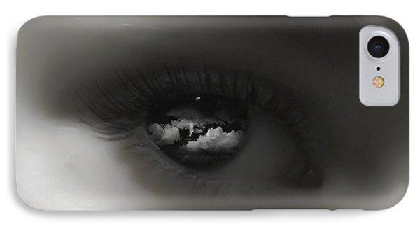 Sky Eye Phone Case by Kristie  Bonnewell