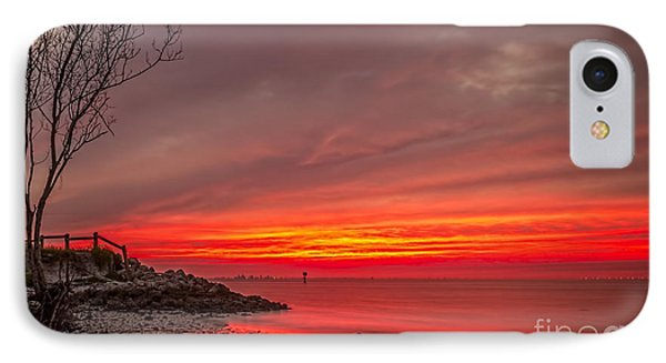 Sky Fire IPhone Case by Marvin Spates