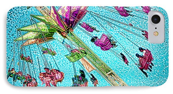 IPhone Case featuring the digital art Sky Flyer by Jennie Breeze