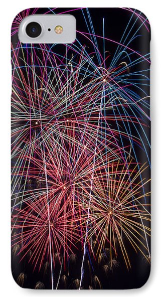 Sky Full Of Fireworks IPhone Case by Garry Gay