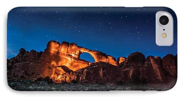 IPhone Case featuring the photograph Sky Line Light by Daniel Hebard