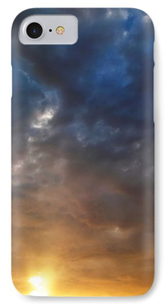 Sky Moods - Contemplation IPhone Case by Glenn McCarthy