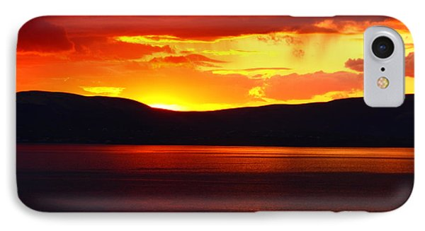 Sky Of Fire IPhone Case by Aidan Moran