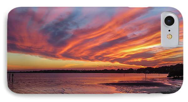 Sky On Fire IPhone Case by Jane Luxton