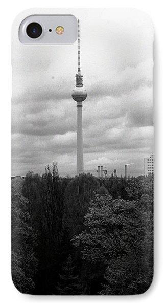 Sky Over Berlin Phone Case by Steve K