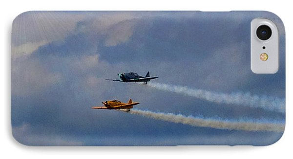 IPhone Case featuring the photograph Sky Raiders  by Michael Rucker