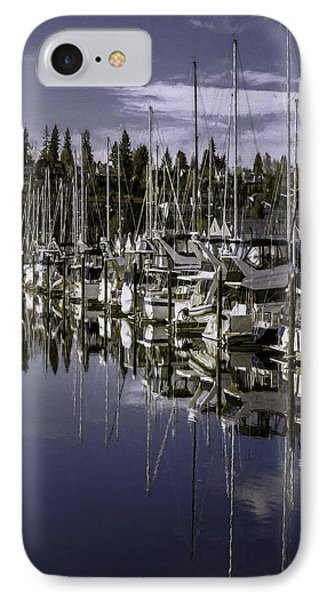 IPhone Case featuring the photograph Sky Reach by Jean OKeeffe Macro Abundance Art