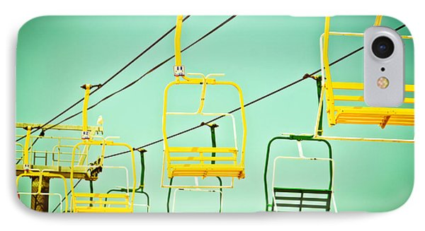 Sky Ride #41 IPhone Case by Colleen Kammerer