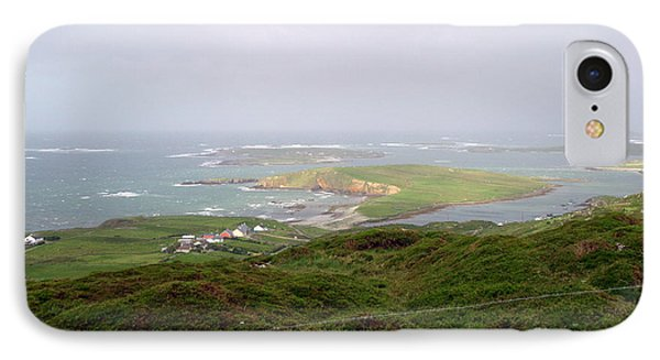 Sky Road Clifden Ireland IPhone Case by Butch Lombardi