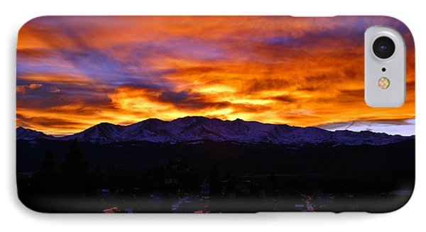 IPhone Case featuring the photograph Sky Shadows by Jeremy Rhoades