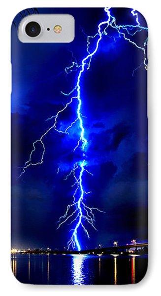 Sky Streaking Phone Case by Doug Heslep