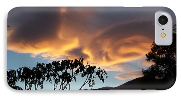 Sky Swirls IPhone Case by Christine Drake