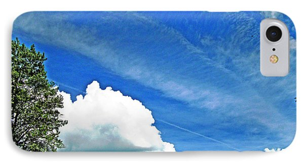 Sky Trails IPhone Case by Skyler Tipton