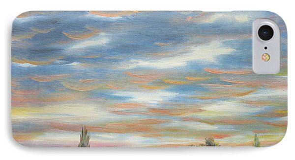 IPhone Case featuring the painting Sky by Vesna Martinjak