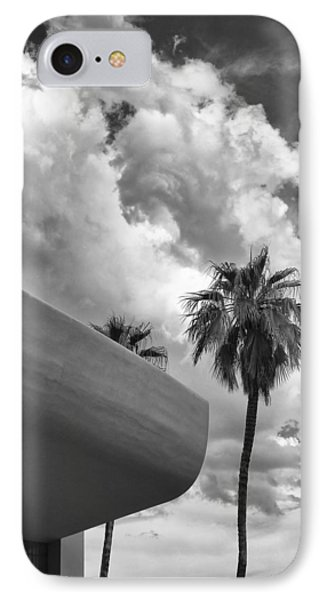 Sky-ward Palm Springs Phone Case by William Dey