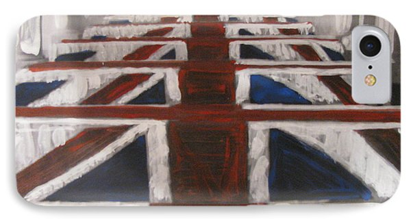IPhone Case featuring the painting Skyfall by Vikram Singh
