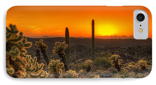 Skyfire Cholla IPhone Case by Anthony Citro