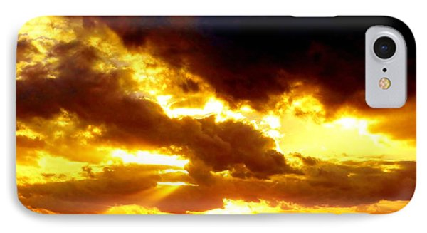 IPhone Case featuring the photograph Skygold by Amar Sheow