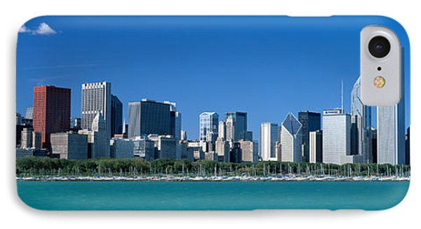 Skyline Chicago Il Usa IPhone Case by Panoramic Images