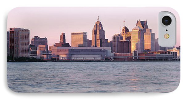 Skyline Detroit Mi Usa IPhone Case