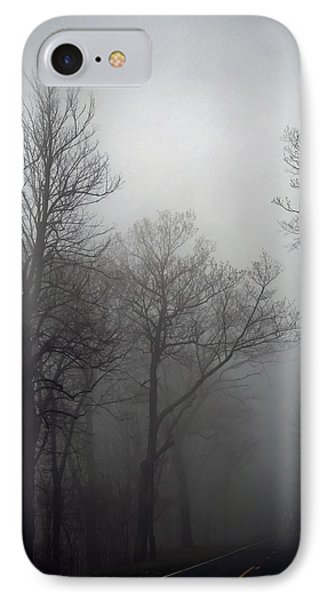 Skyline Drive In Fog IPhone Case
