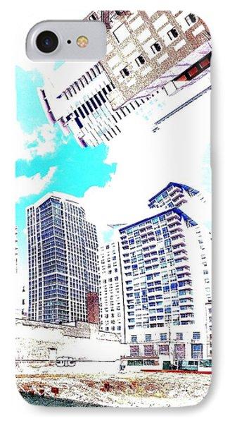 Skyline Flowing Phone Case by Scott Dixon