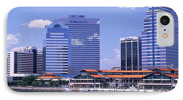 Skyline Jacksonville Fl Usa IPhone Case by Panoramic Images