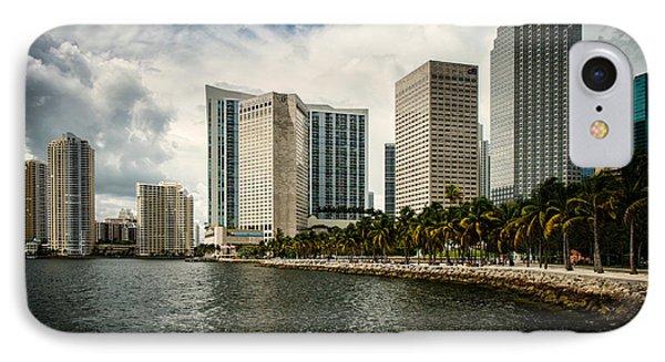 Skyline Miami IPhone Case by Scott Mullin