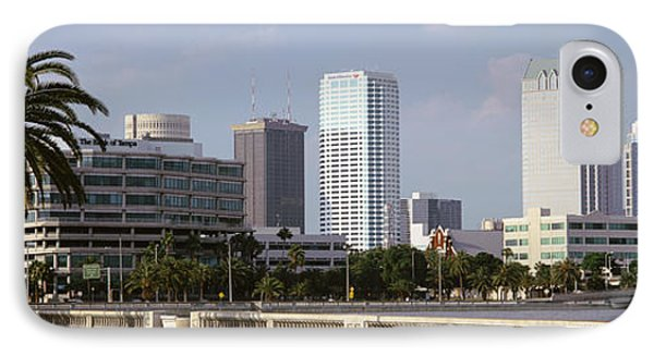 Skyline Tampa Fl Usa IPhone Case by Panoramic Images