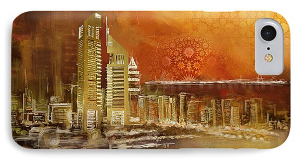 Skyline View  IPhone Case by Corporate Art Task Force