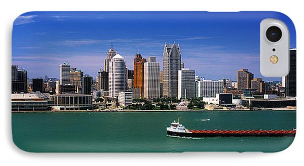 Skylines At The Waterfront, River IPhone Case by Panoramic Images
