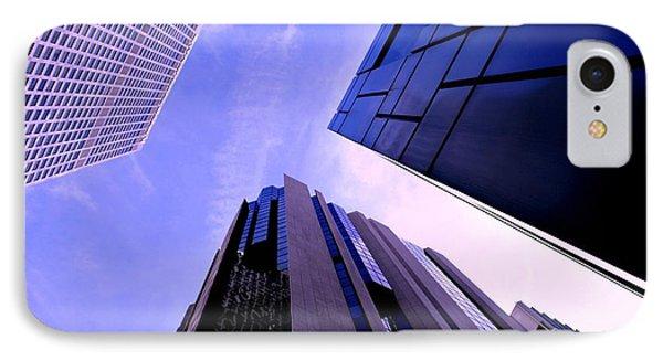Skyscraper Angles IPhone Case by Matt Harang